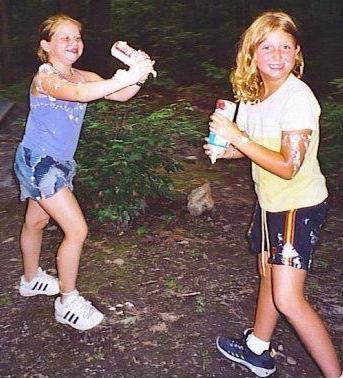 Alyssa and Megan